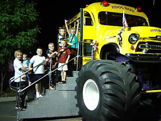 Gardner Village and Monster Bus 001